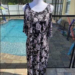 Glamour floral maxi dress 14
